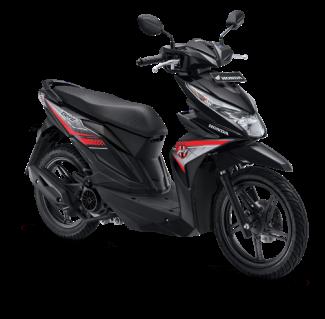 All New Honda BeAT eSP 2017 Warna Hitam tipe CW